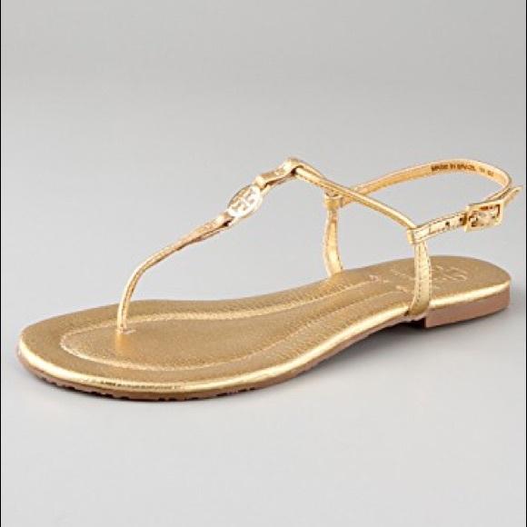 Tory Burch EMMY - Sandals - gold b7j9gjKtV